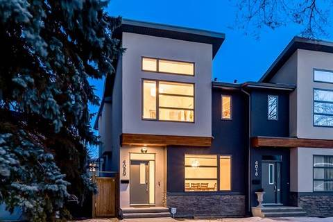 Townhouse for sale at 4020 2 St Northwest Calgary Alberta - MLS: C4282736