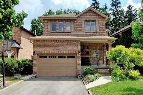 House for sale at 4020 Rolling Valley Dr Mississauga Ontario - MLS: W4825596