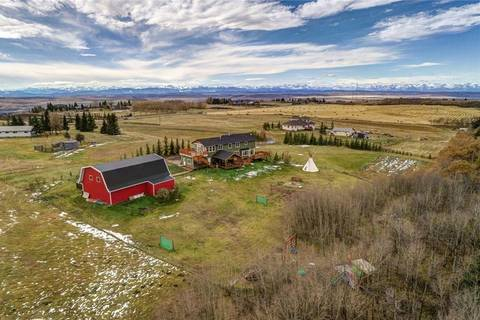 House for sale at 40236 Big Hill Rd Rural Rocky View County Alberta - MLS: C4254175