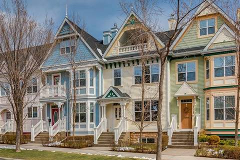 Townhouse for sale at 4026 Garrison Blvd Southwest Calgary Alberta - MLS: C4242929