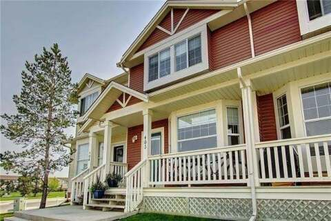 Townhouse for sale at 703 Luxstone Sq Southwest Unit 403 Airdrie Alberta - MLS: C4296455