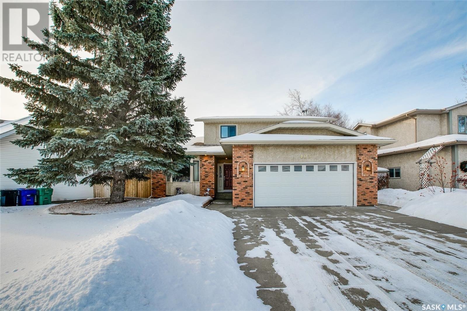 House for sale at 403 Forsyth Wy Saskatoon Saskatchewan - MLS: SK838270