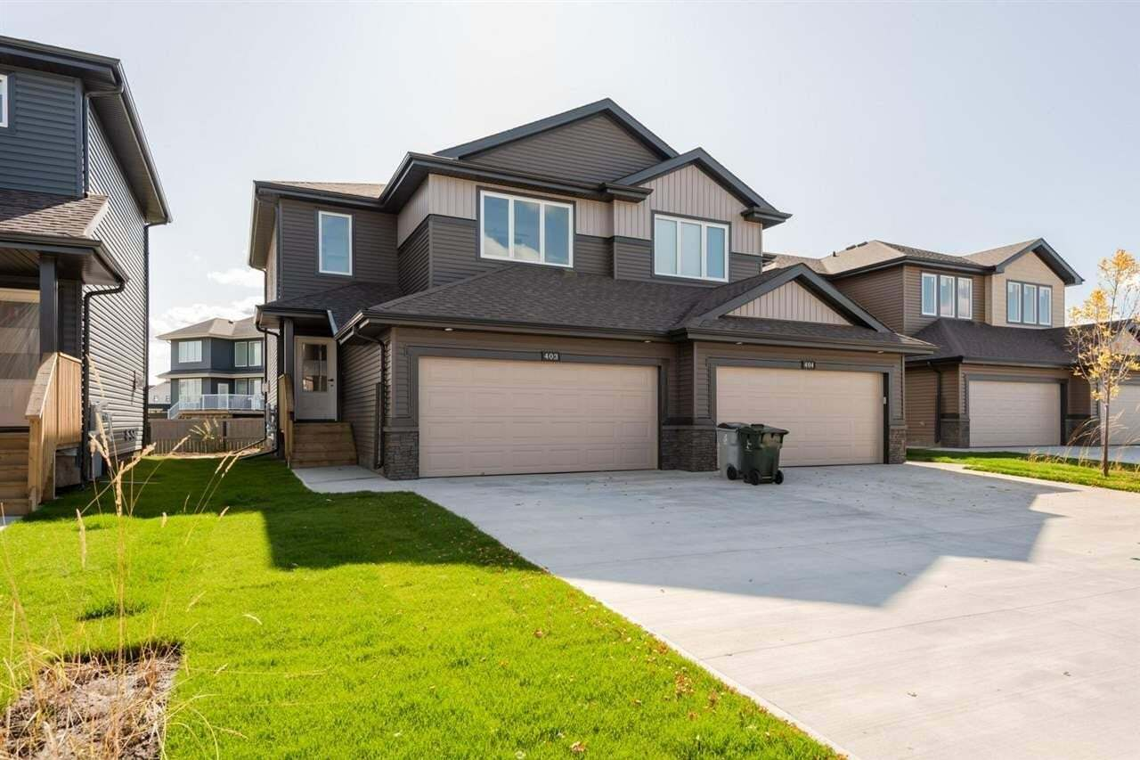 Townhouse for sale at 403 Genesis Co Stony Plain Alberta - MLS: E4194428