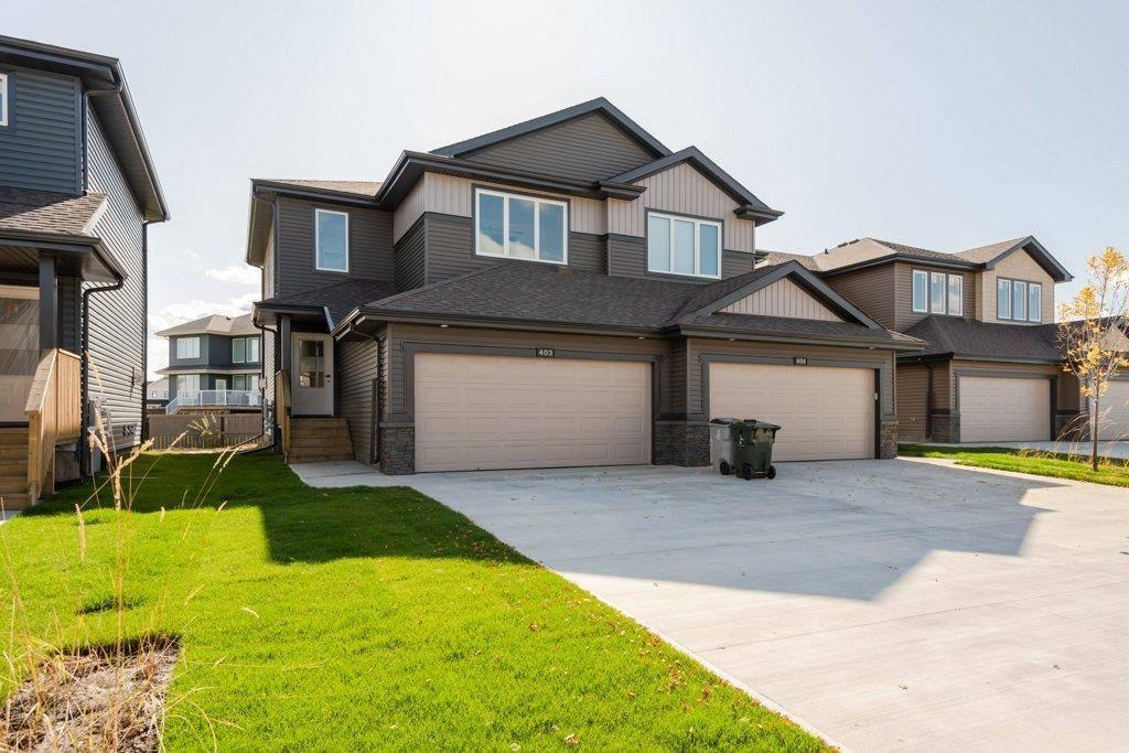 Townhouse for sale at 403 Genesis Ct Stony Plain Alberta - MLS: E4136855
