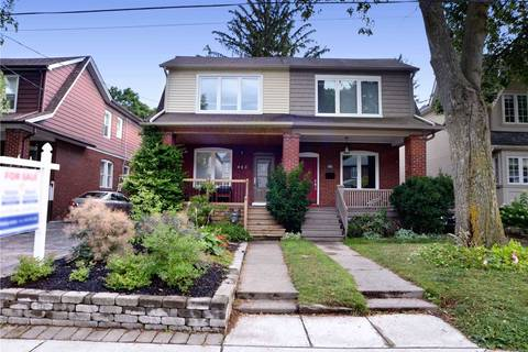 Townhouse for sale at 403 Manor Rd Toronto Ontario - MLS: C4550410