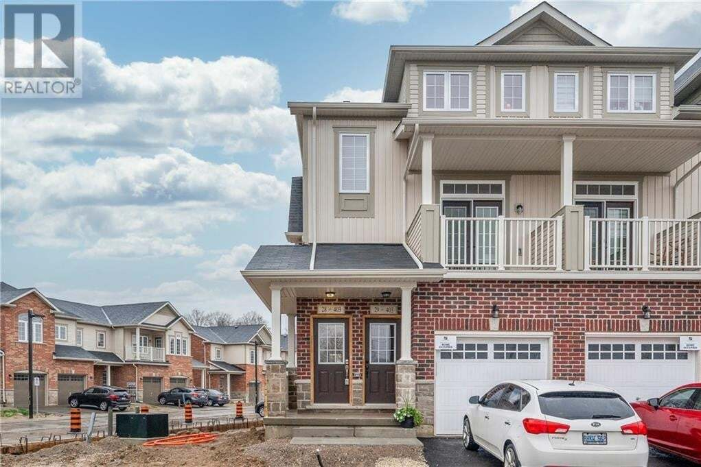 Townhouse for sale at 403 Westwood Dr Kitchener Ontario - MLS: 30808793