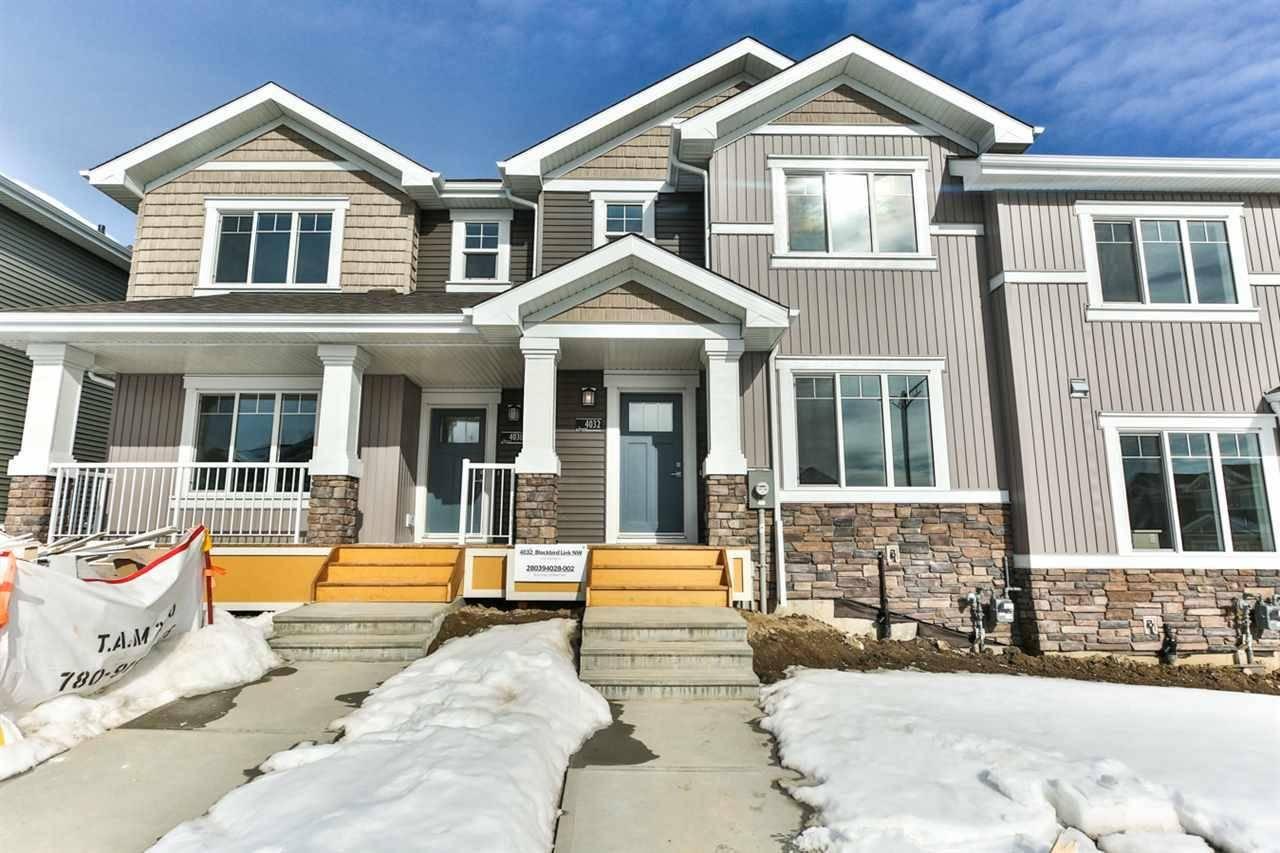 House for sale at 4032 Blackbird Li Nw Edmonton Alberta - MLS: E4188969
