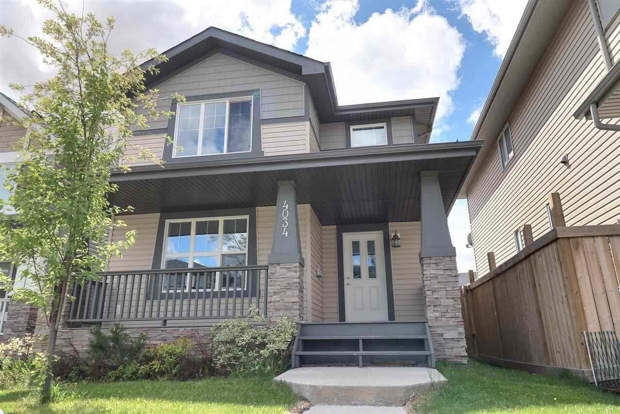 House for sale at 4034 Alexander Wy SW Edmonton Alberta - MLS: E4200226