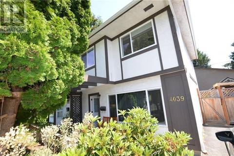 Townhouse for sale at 4039 Magdelin St Victoria British Columbia - MLS: 412662