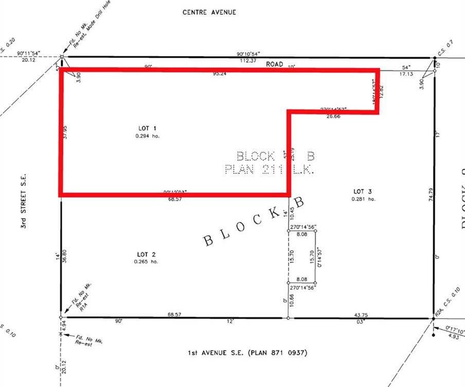 Residential property for sale at 404 1 Ave Se Black Diamond Alberta - MLS: C4270383