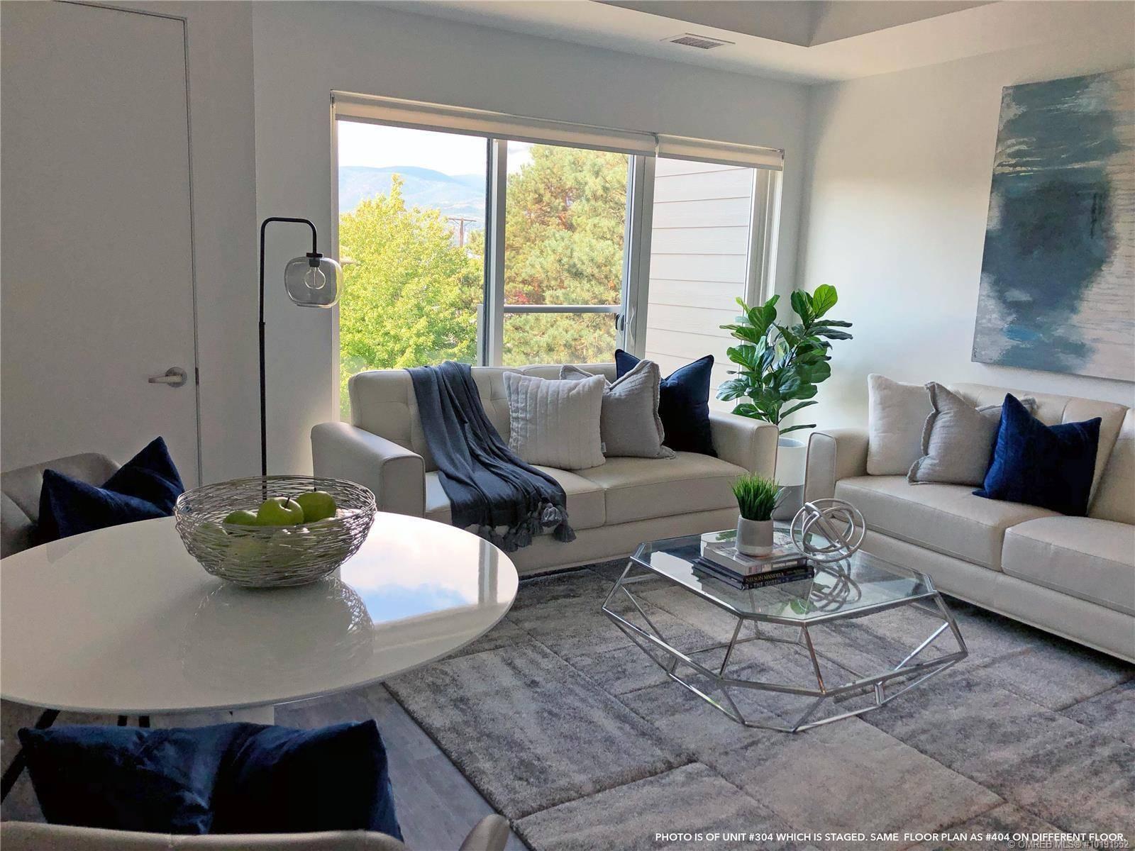 Condo for sale at 1083 Klo Rd Unit 404 Kelowna British Columbia - MLS: 10191552