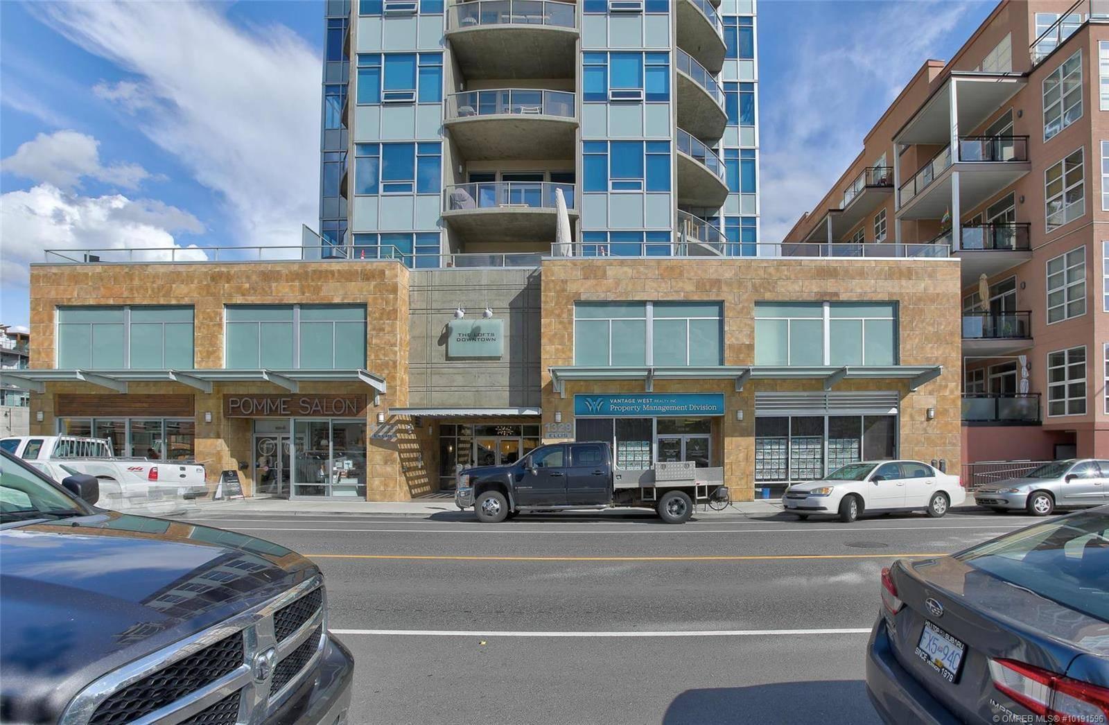 Condo for sale at 1329 Ellis St Unit 404 Kelowna British Columbia - MLS: 10191596