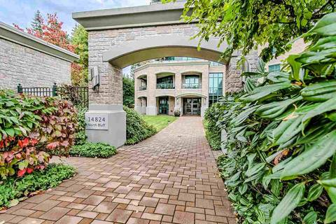Condo for sale at 14824 North Bluff Rd Unit 404 White Rock British Columbia - MLS: R2412017
