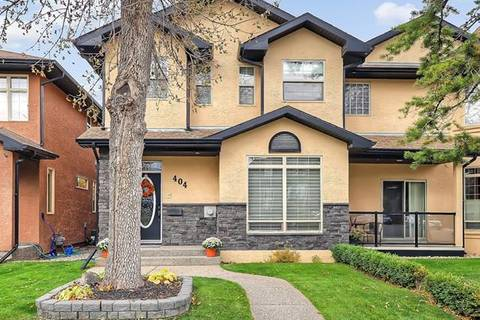 Townhouse for sale at 404 34 Ave Northwest Calgary Alberta - MLS: C4272226