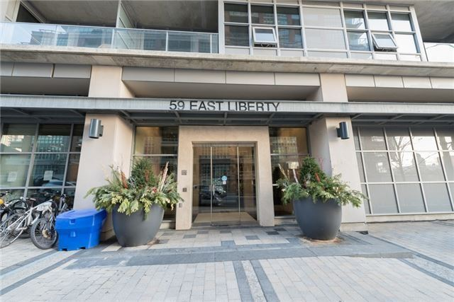 For Rent: 404 - 59 East Liberty Street, Toronto, ON | 2 Bed, 2 Bath Condo for $3,000. See 8 photos!