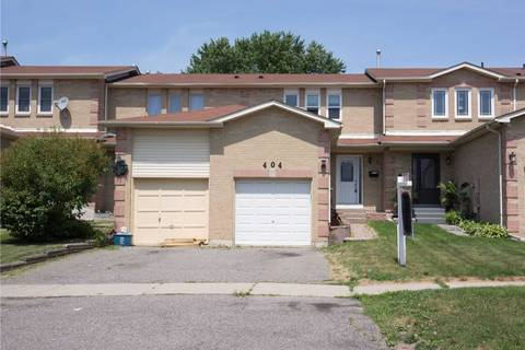 Townhouse for sale at 404 Bristol Cres Oshawa Ontario - MLS: E4536489