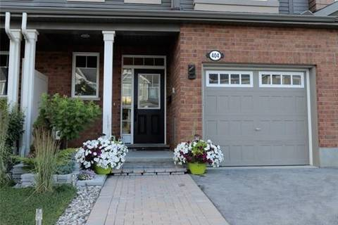 Townhouse for rent at 404 White Arctic Ave Ottawa Ontario - MLS: 1161589