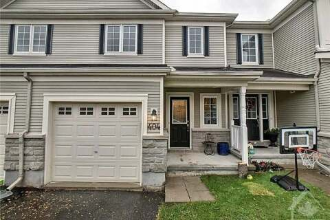 House for sale at 404 Wisteria Cres Ottawa Ontario - MLS: 1212883