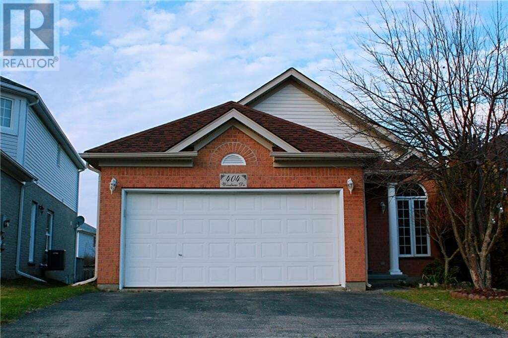 House for sale at 404 Woodrow Dr Waterloo Ontario - MLS: 30802110