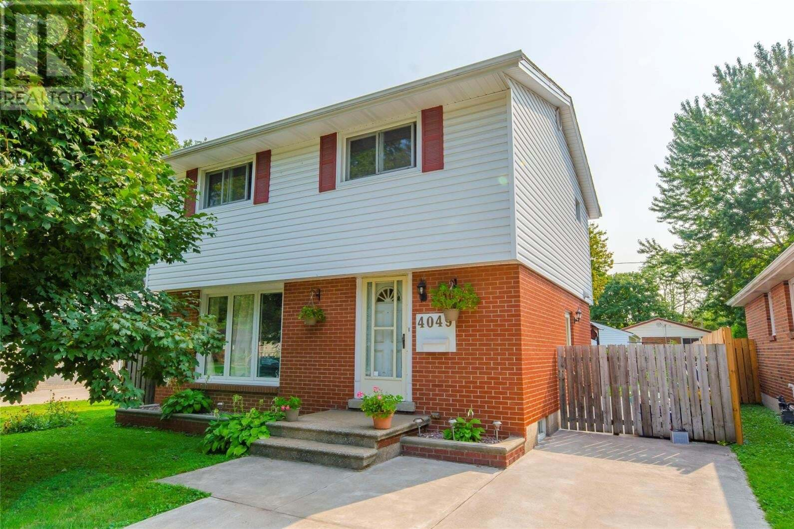 House for sale at 4049 Whitney Ave Windsor Ontario - MLS: 20012022