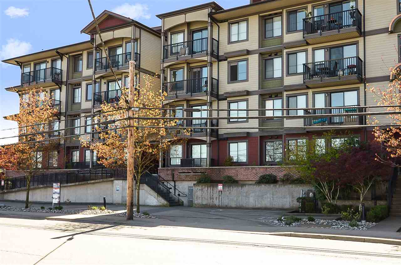 For Sale: 405 - 19830 56 Avenue, Langley, BC | 1 Bed, 1 Bath Condo for $399,900. See 20 photos!