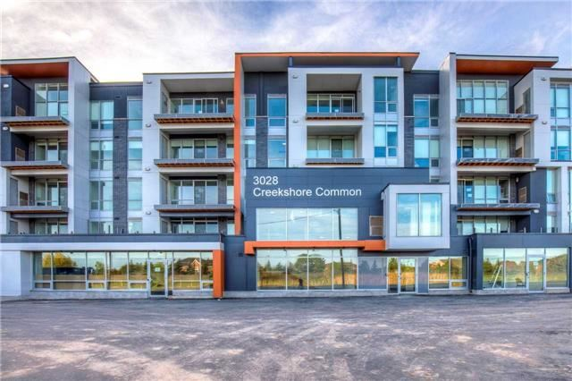 For Rent: 405 - 3028 Creekshore Common , Oakville, ON | 2 Bed, 2 Bath Condo for $2,400. See 20 photos!
