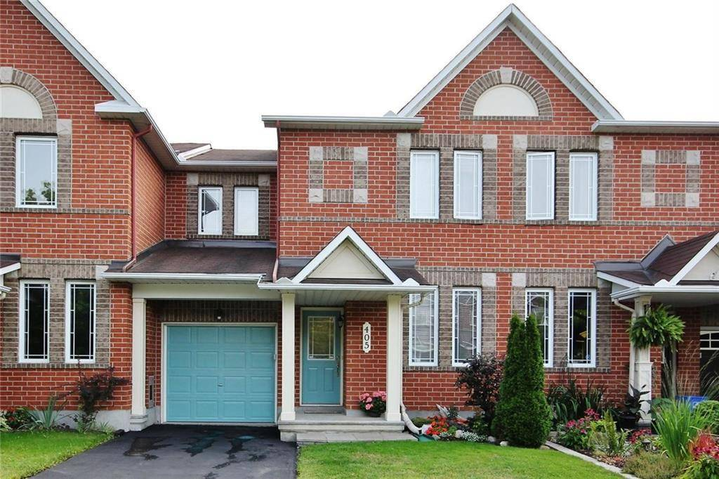 Townhouse for sale at 405 Cresthaven Dr Ottawa Ontario - MLS: 1167990