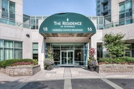 Apartment for rent at 16 Harrison Garden Blvd Unit 406 Toronto Ontario - MLS: C4668428