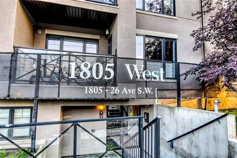 Condo for sale at 1805 26 Ave Southwest Unit 406 Calgary Alberta - MLS: C4261670