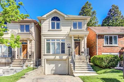 House for sale at 406 Deloraine Ave Toronto Ontario - MLS: C4483080