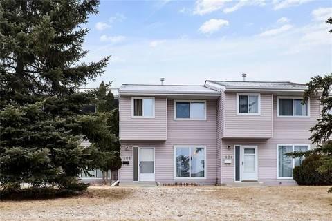 Townhouse for sale at 406 Marlborough Wy Northeast Calgary Alberta - MLS: C4292988
