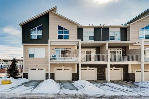 Townhouse for sale at 406 Redstone Vw Northeast Calgary Alberta - MLS: C4247840
