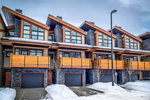 Townhouse for sale at 406 Riva Pl Canmore Alberta - MLS: C4284619