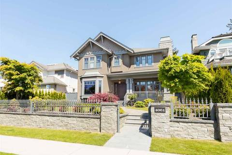 House for sale at 4061 38th Ave W Vancouver British Columbia - MLS: R2368981