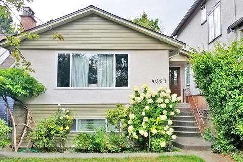 House for sale at 4067 20th Ave W Vancouver British Columbia - MLS: R2338945