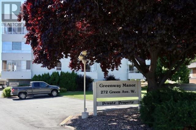 Condo for sale at 272 Green Ave W Unit 407 Penticton British Columbia - MLS: 184912