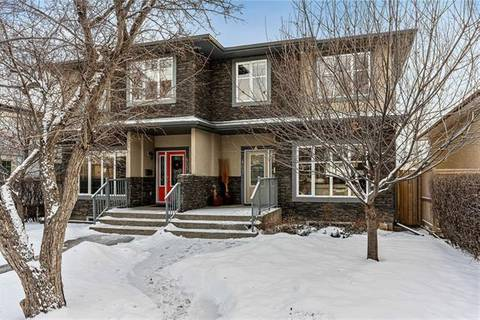 Townhouse for sale at 407 28 Ave Northwest Calgary Alberta - MLS: C4281462