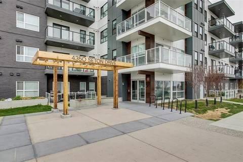 Condo for sale at 4350 Seton Dr Southeast Unit 407 Calgary Alberta - MLS: C4295307
