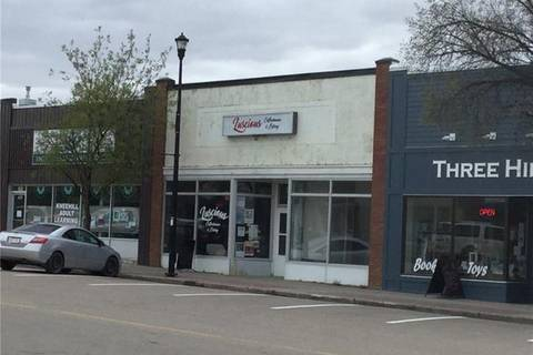 Commercial property for sale at 407 Main St Three Hills Alberta - MLS: C4245395