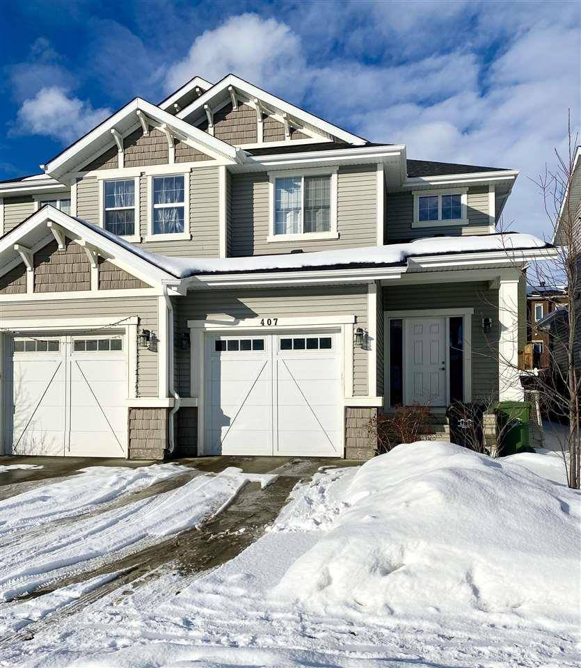 Townhouse for sale at 407 Simmonds Wy Leduc Alberta - MLS: E4186320