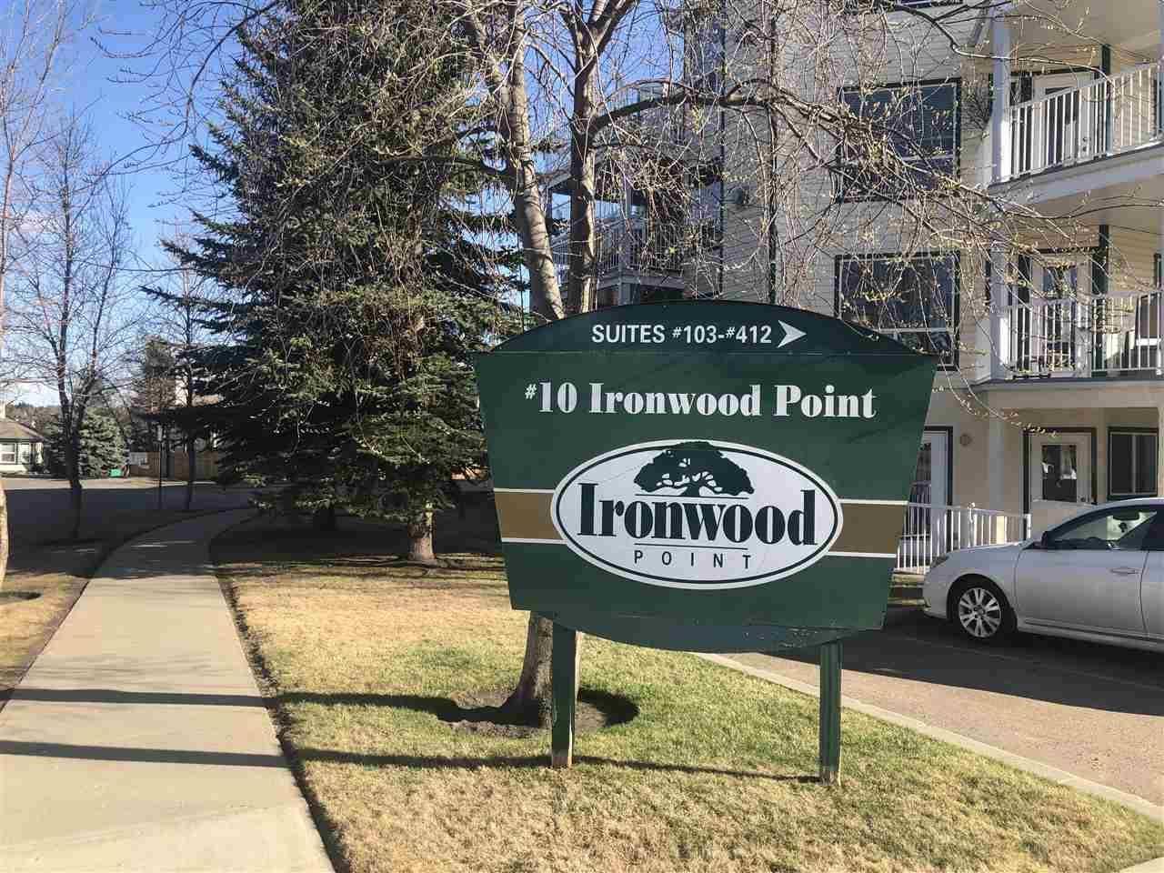 Condo for sale at 10 Ironwood Pt Unit 408 St. Albert Alberta - MLS: E4195654
