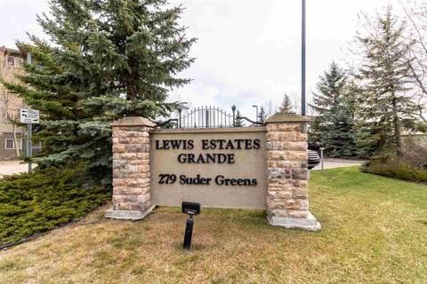 Condo for sale at 279 Suder Greens Dr Nw Unit 408 Edmonton Alberta - MLS: E4155977