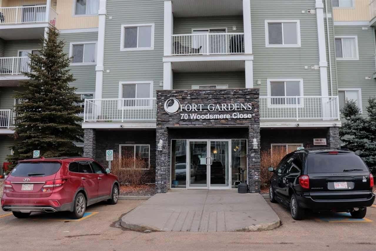 Condo for sale at 70 Woodsmere Cl Unit 408 Fort Saskatchewan Alberta - MLS: E4137343