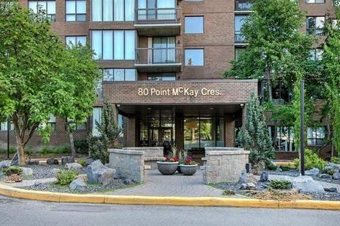 Condo for sale at 80 Point Mckay Cres Northwest Unit 408 Calgary Alberta - MLS: C4276073