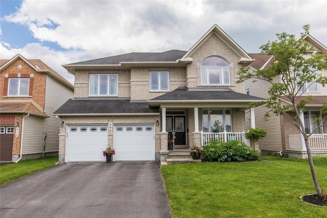 House for sale at 408 Fairlakes Wy Ottawa Ontario - MLS: 1157292