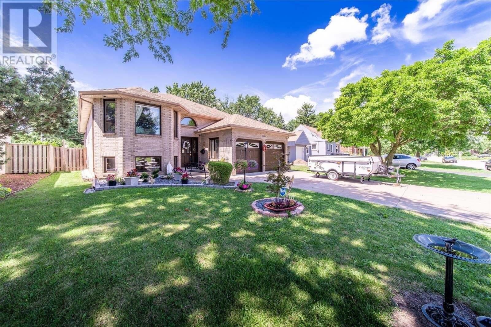 House for sale at 4081 Casgrain  Windsor Ontario - MLS: 20009602