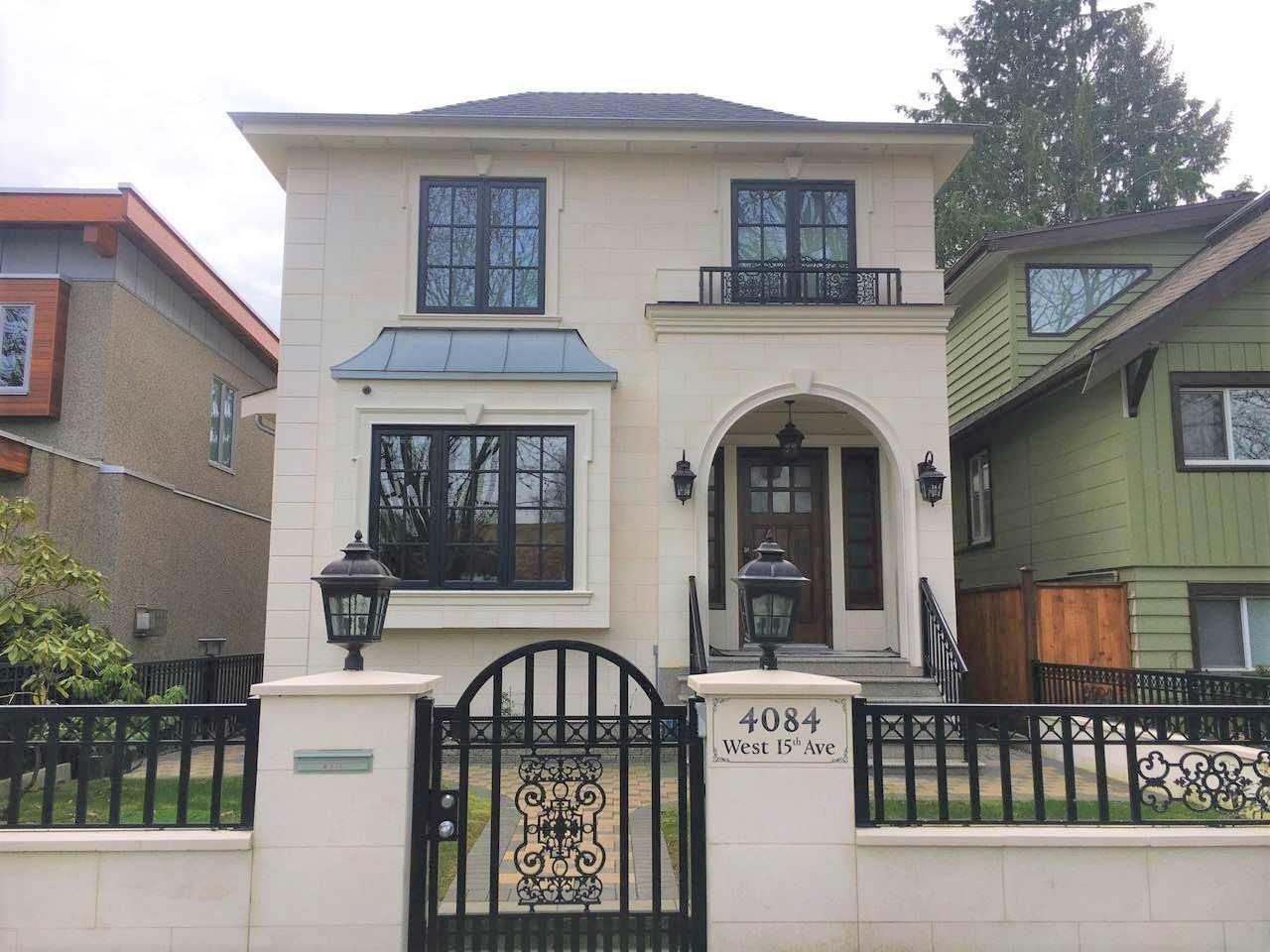 Sold: 4084 W 15th Avenue, Vancouver, BC