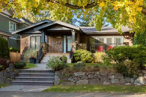 House for sale at 4085 39th Ave W Vancouver British Columbia - MLS: R2402700