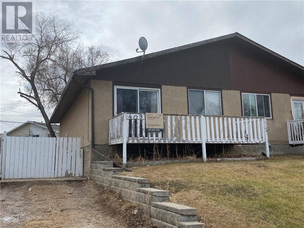 Townhouse for sale at 409 10 Ave Se Drumheller Alberta - MLS: sc0190824