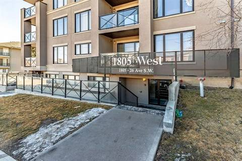 Condo for sale at 1805 26 Ave Southwest Unit 409 Calgary Alberta - MLS: C4235923